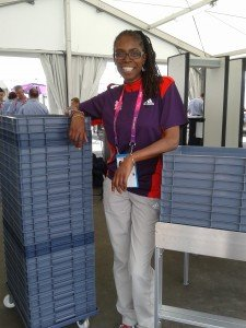 Ntathu Allen-Volunteer at London 2012 Paralympic Games